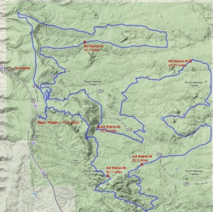 2010 Laramie Enduro Course